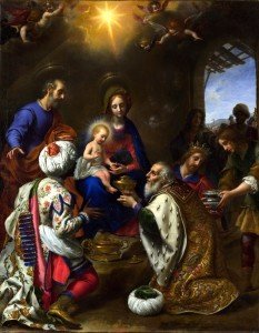 Full title: The Adoration of the Kings Artist: Carlo Dolci Date made: 1649 Source: http://www.nationalgalleryimages.co.uk/ Contact: picture.library@nationalgallery.co.uk  Copyright © The National Gallery, London