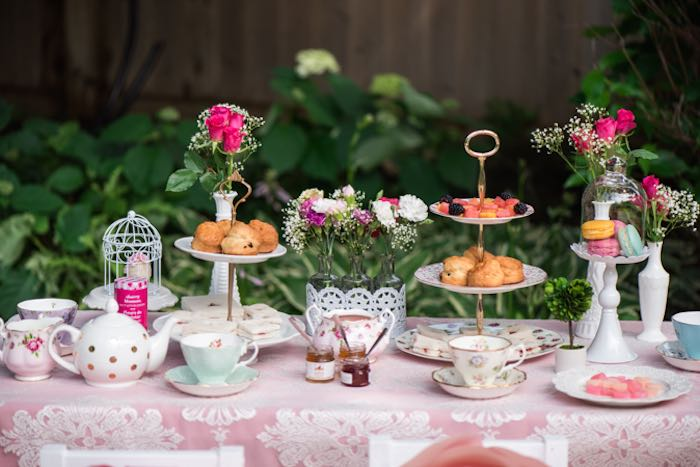 Afternoon tea party st stephen 39 s guernsey for High tea party decorations